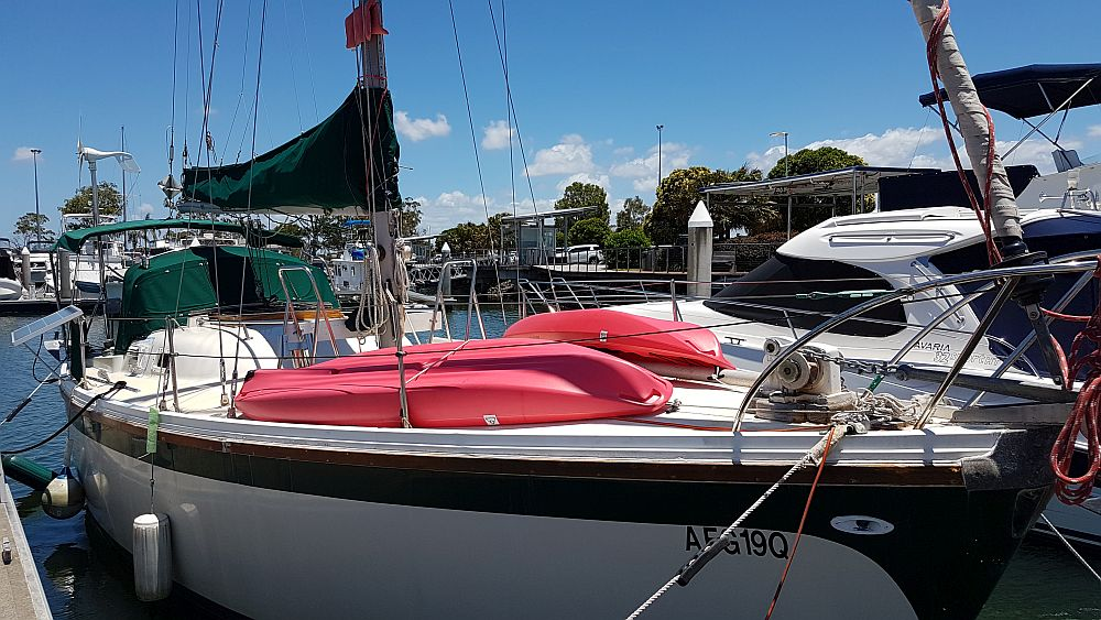 Green Panther Columbia 34MKII for sale Australia