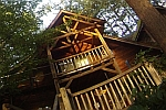 one step closer_tree house in Oregon
